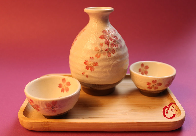 Set à sake en céramique