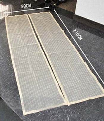 Размеры антимоскитной сетки