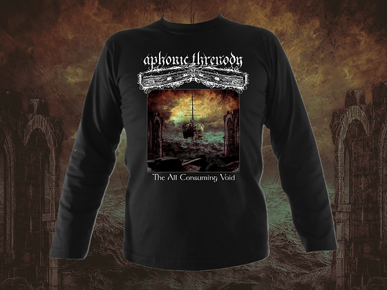 'The All Consuming Void' mens long sleeved t-shirt
