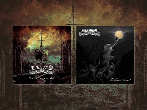 Aphonic Threnody 'The All Consuming Void' & 'The Great Hatred'