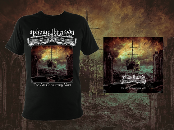 'The All Consuming Void' Bundle - Artwork Tee and 6-Panel Digipak CD