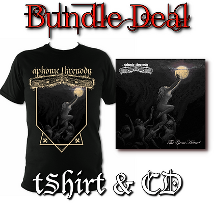 'The Great Hatred' Bundle - Tee & CD