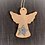 Thumbnail: Engel Anhänger mit Glitzerstern