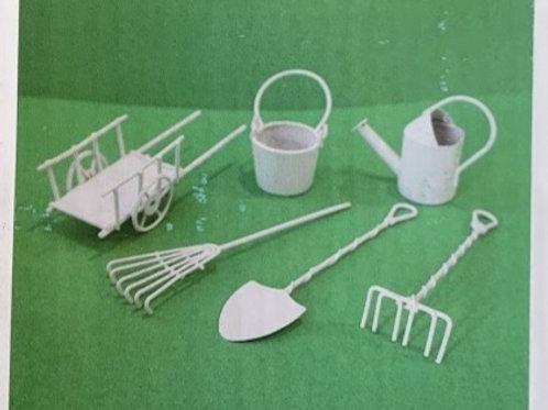 Miniatur Garten-Geräte