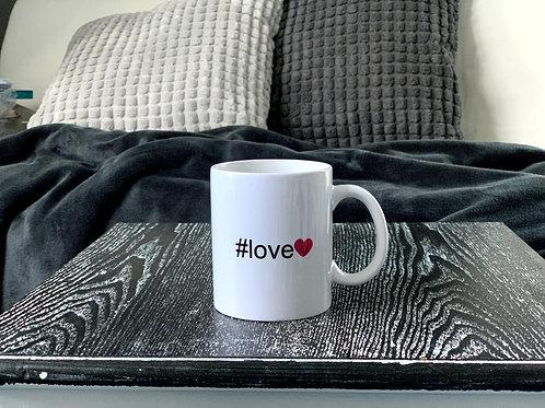 """Tasse """"#love"""""""