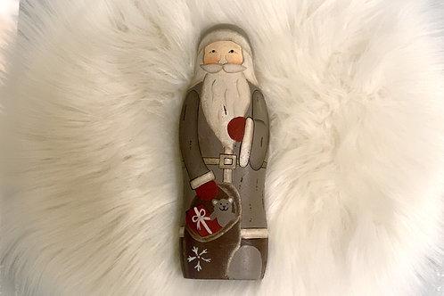 Nostalgie Nikolaus aus Holz