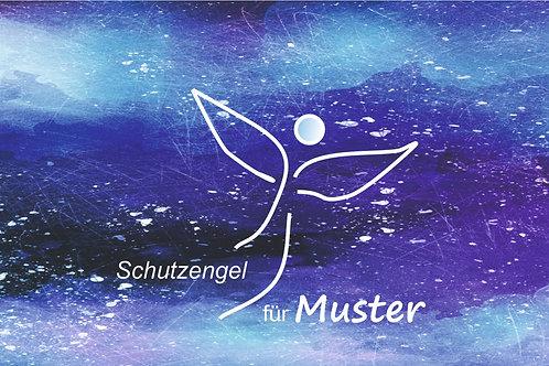 """Blau """"Schutzengel für..."""""""