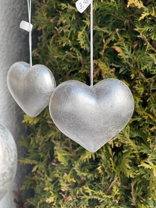 Herz Anhänger in silber
