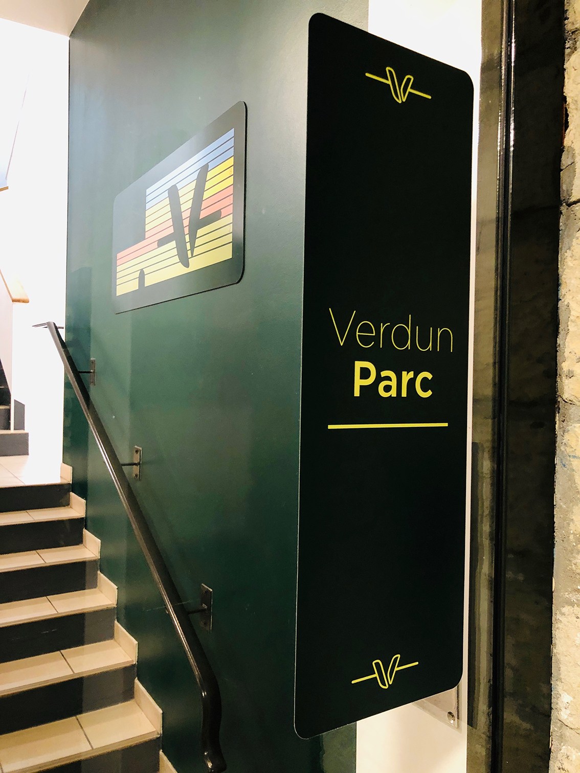 Signalétique Verdun