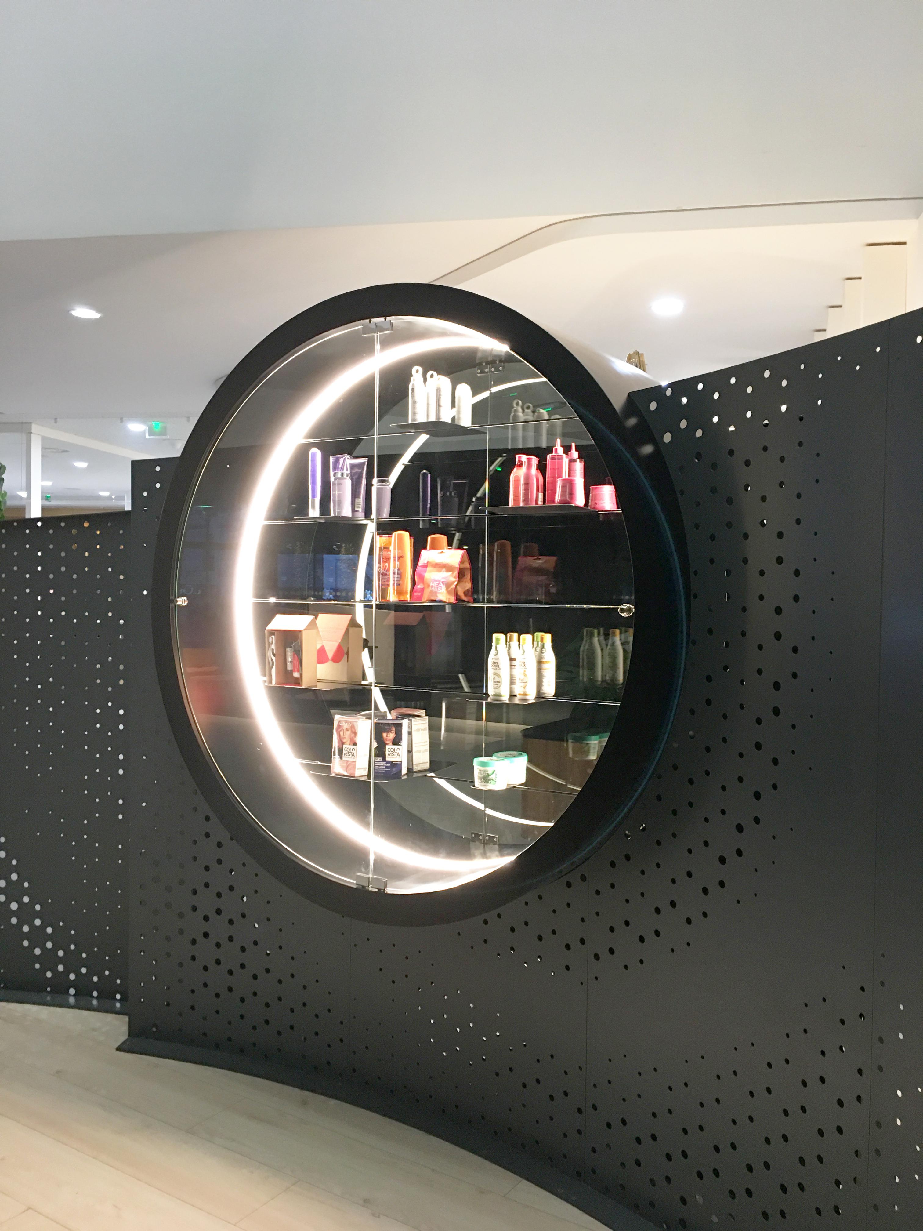 L'Oréal Capillaire - Hall d'entrée