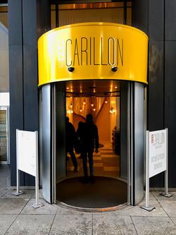 Sas d'entrée Est-Carillon
