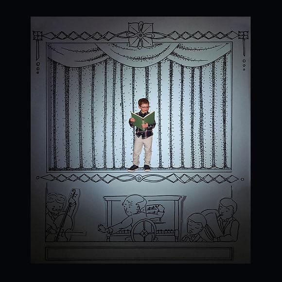 Das kleine Einhorn und der Drache, Kinderbuch, Bilderbuch, bilingual, Anne Blaich