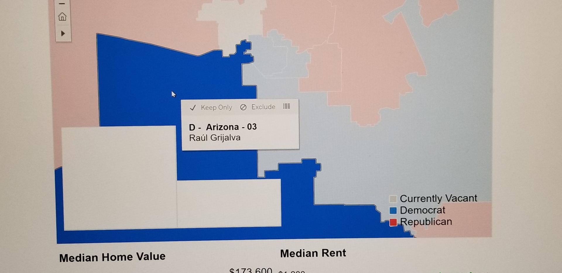 Home Values in CD 03 in  Arizona