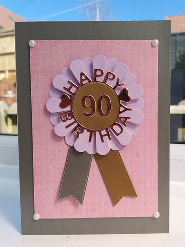 Milestone birthday card