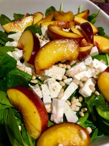 Salade Pêche & Feta