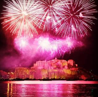 Firework in Calvi