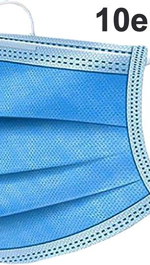 10x Einmal Mundschutz Maske mit CE Zertifizierung