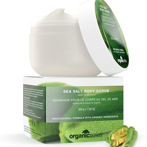 Organic Series sea salt body scrub