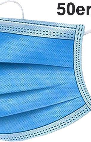 50x Einmal Mundschutz Maske mit CE Zertifizierung
