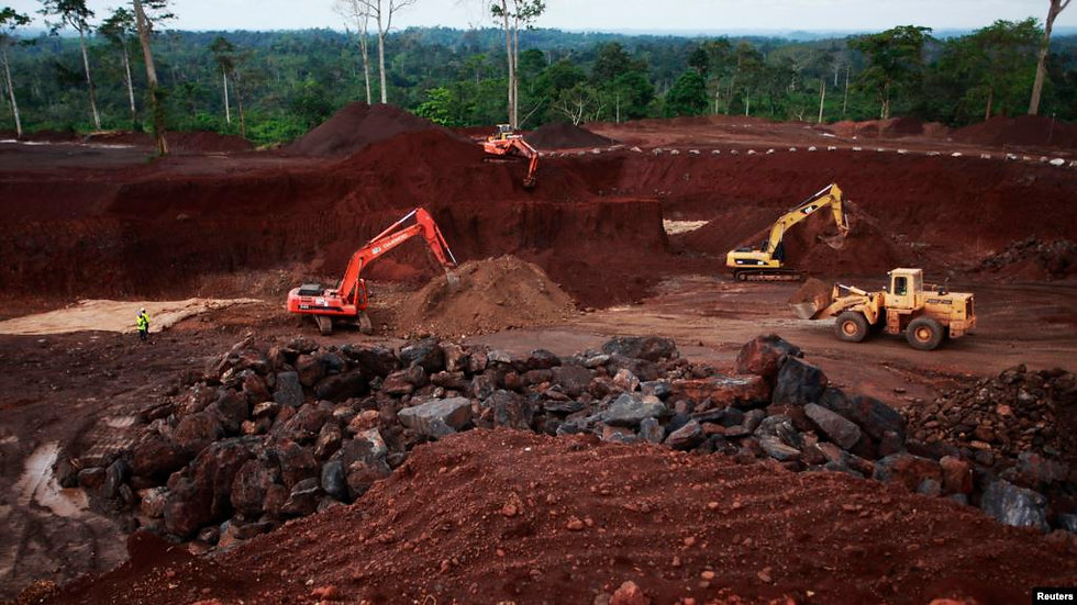 Mine en Côte d'Ivoire