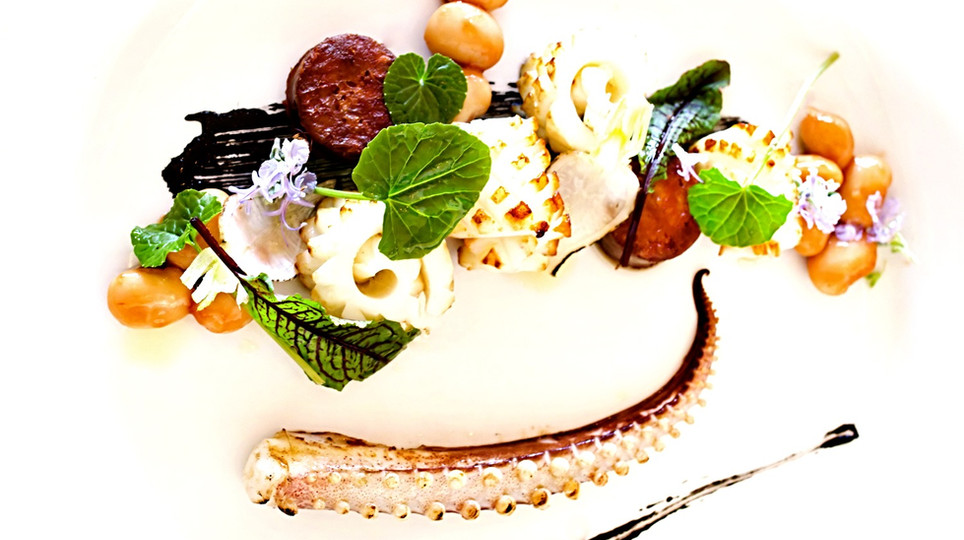 Grilled Squid - Sucuk - Beans 2012