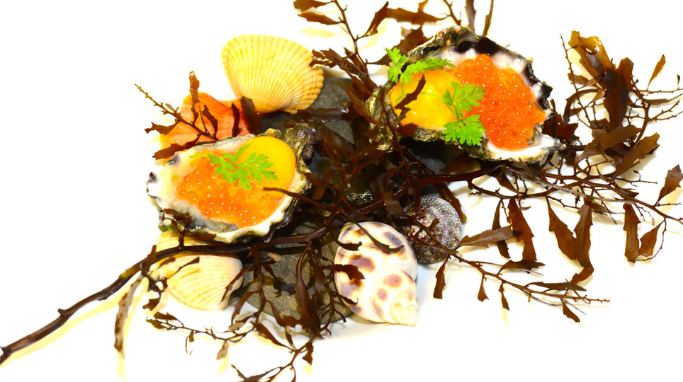 Narooma Oysters - Salmon Roe - Quail Egg 2012