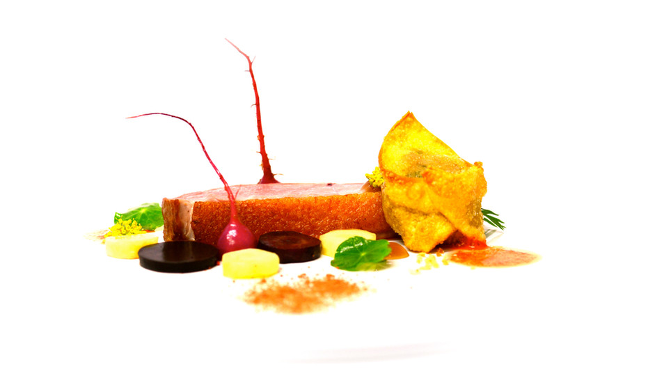 Duck Breast and Confit Leg