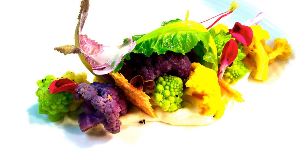 Texures of Cauliflower