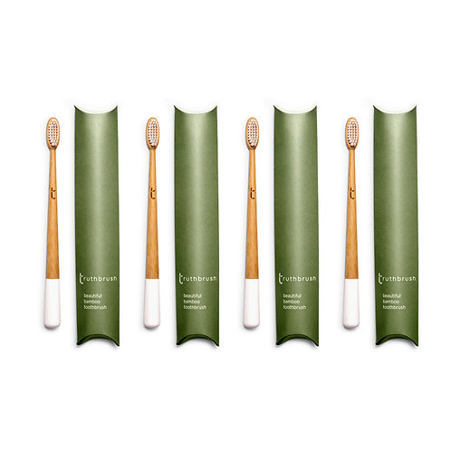 Truthbrush - Set of Four: Cloud White