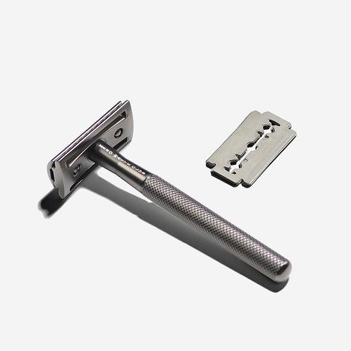 Zero Waste Club Stainless Steel Razor - Metal Grey