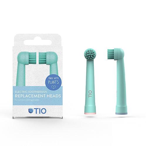 TIO Tiomatik Electric Toothbrush Heads - Set Of 2