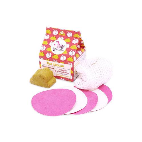 Lamazuna Cleansing Duo - Facial Cleanser & Make Up Pads