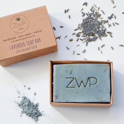 Zero Waste Path Soap Bar - Lavender