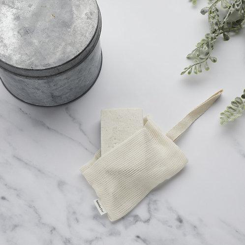 Tabitha Eve Organic Cotton Soap Pouch