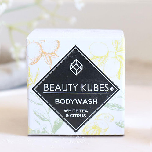 Beauty Kubes Bodywash - White Tea & Citrus