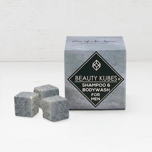 Beauty Kubes Solid Shampoo - For Men