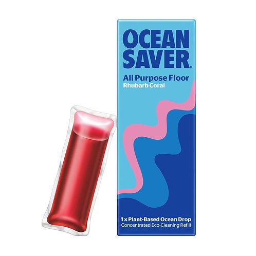 Ocean Saver All-Purpose Floor Cleaner - Rhubarb Coral