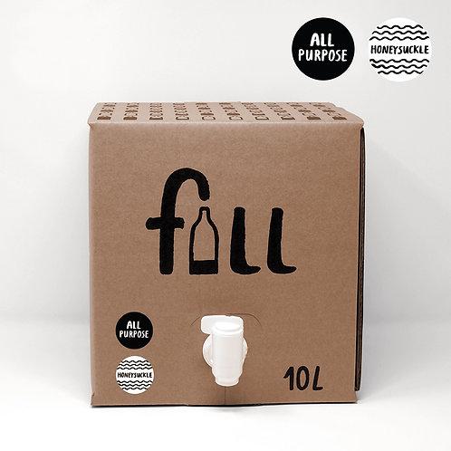 Fill All Purpose Cleaning Liquid Bulk 10L - Honeysuckle
