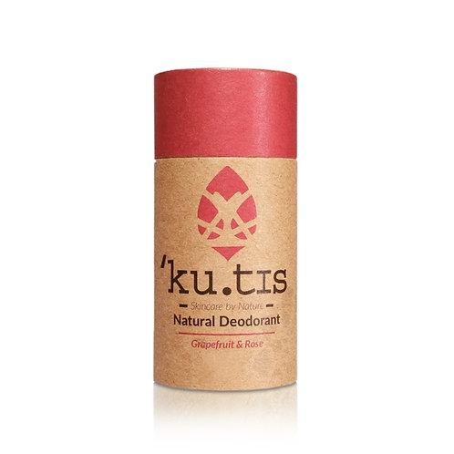 Kutis Deodorant - Grapefruit & Rose