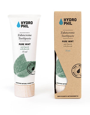 Hydrophil Toothpaste With Fluoride - Pure Mint