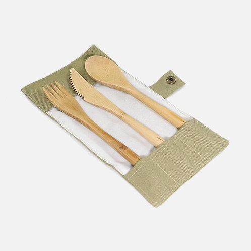 Zero Waste Club Bamboo Cutlery Set