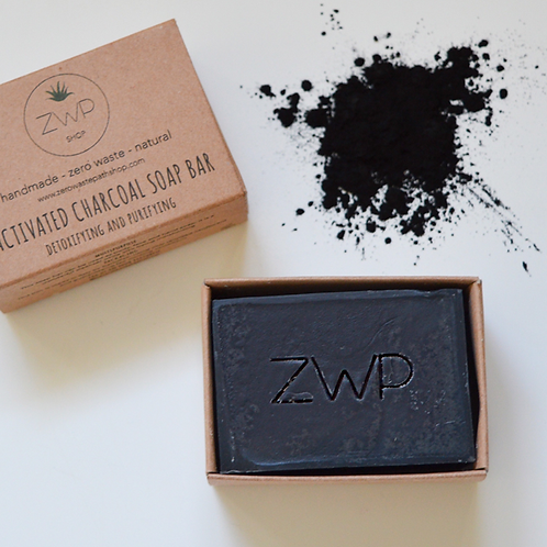 Zero Waste Path Soap Bar - Activated Charcoal