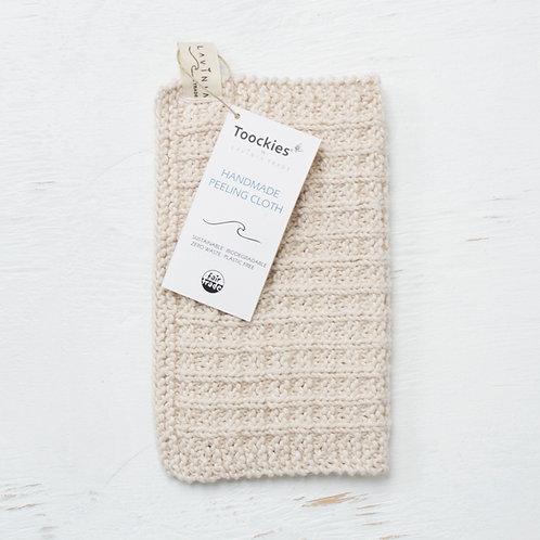Toockies Exfoliation Cloth - Organic Cotton