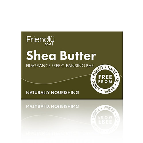 Friendly Soap Cleansing Bar - Shea Butter