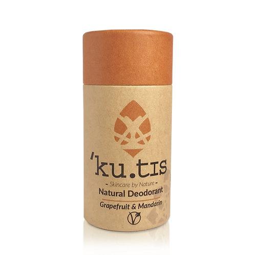 Kutis Vegan Deodorant - Grapefruit & Mandarin