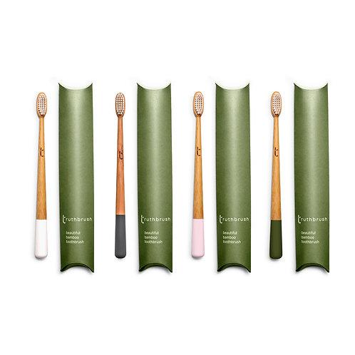 Truthbrush - Set of Four: White, Grey, Pink, Green