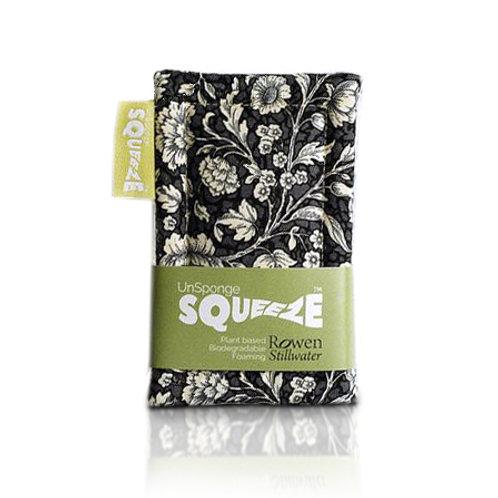 Rowen Stillwater Squeeze UnSponge - Black Floral