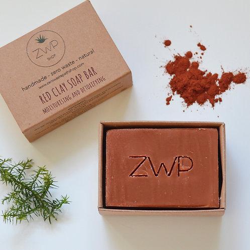 Zero Waste Path Soap Bar - Red Clay