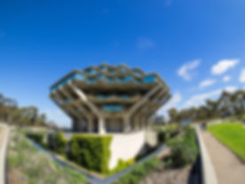 Geisel Library is the main library build