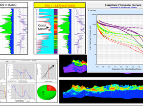 Capillary Pressure data integration helps defining carbonates reservoir compartmentalization